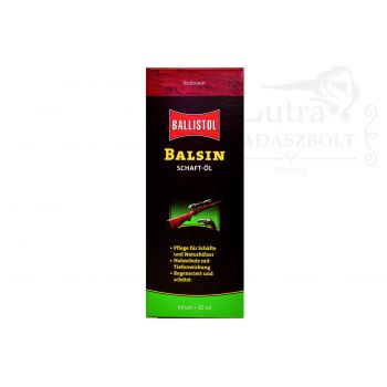 Ballistol Balsin Tusolaj Vörösbarna 50ml