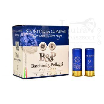 Baschieri&Pellagri Sporting&Compak Short Range 12/70 28g 9 2,1mm