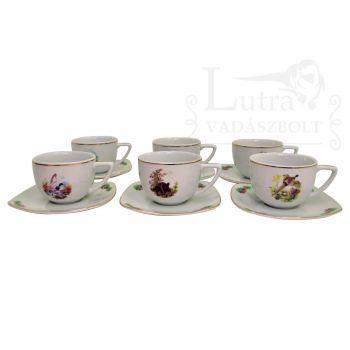 Porcelán Kávéscsésze Készlet
