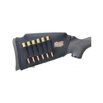 Beartooth Comb Raising Lőszertartós Pofadék Magasító Fekete